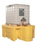 Cubeto de retención para 1 GRG con dispensador integrado
