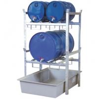 Estanterías para Bidones (2x200 litros)