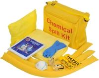 Kit de derrame químico para vehículo en bolsa