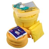Kit de derrame químico en contenedor UN